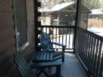 Screened porches to relax on