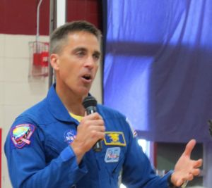 Chris Cassidy, graduate of York High School. the US Naval Academy and MIT, spent 6 months aboard the International Space Station.