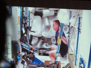 From the video depicting life on the Space Station