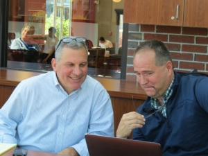 Jeff Rodman, President of MAMLE and,John Keane, President Elect