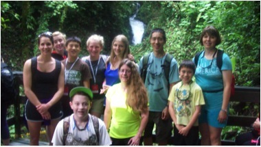 Costa Rica Study Group Led by Paula Vigue