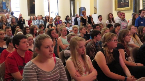 image of the audience