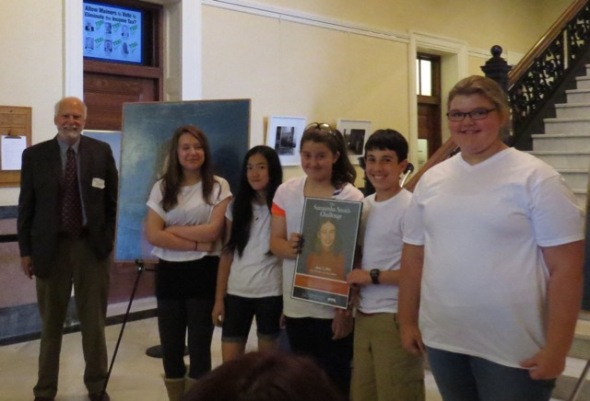 image of students from Whittier MS