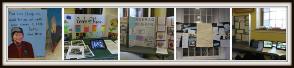 an image of student projects