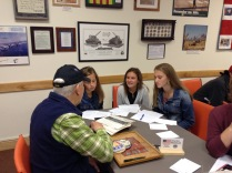 Messalonskee Middle School: Interviewing Veterans at The Cole Land Transportation Museum