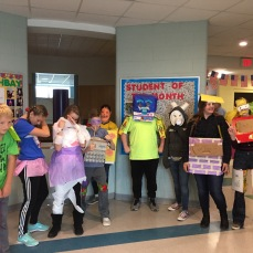 Messalnogki a Middle School: Friday Fun Day Costume Challenge