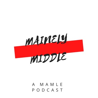 Mainely Middle Podcast logo